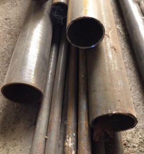 Трубы стальные новые