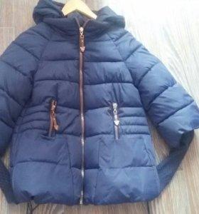 Куртка женская осень-зима 46р