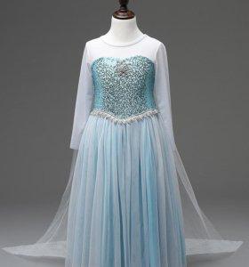 Платье Эльзы из м/ф Холодное сердце, костюм Эльзы