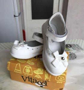 Туфли на девочку фирмы vitacci