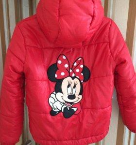 Куртка на 7-8 лет