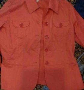 Джинсовая куртка новая, р.50-52