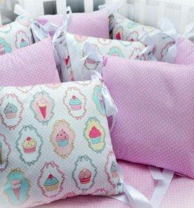 В наличии новые бортики подушки