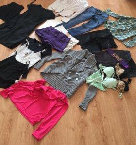Пакетом вещи на девушку размер 40-42