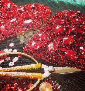 Обучение тамбурной вышивке