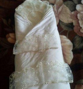 Конверт-одеяло на выписку.