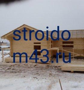 Строительство и отделка домов и бань под ключ