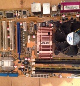 Asus P5KPL-E + проц.Core 2DUO E4500 + куллер