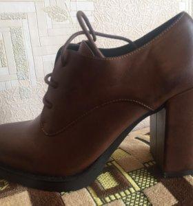 Туфли осенние Bata