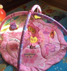 Развивающий коврик с рождения!