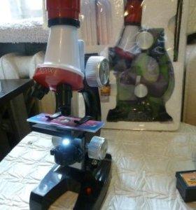 Микроскоп 100X-400X-1200Х