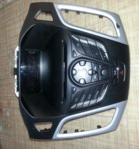 Штатная магнитола + часы Ford Focus 3