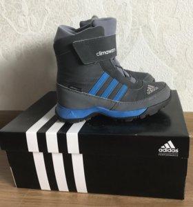 Детские зимние сапоги Adidas (оригинал!!!)