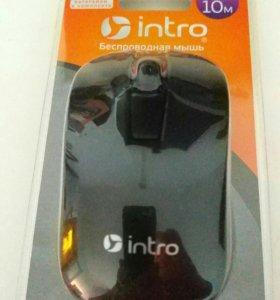 Мышь беспроводная Intro MW175 Black USB