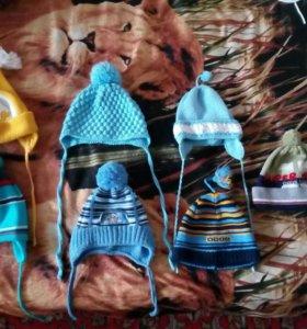 Осенне-весенние шапочки на мальчика!