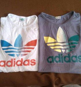 Мужские футболки-за обе!