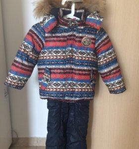 Тёплый зимний костюм (куртка, штаны)