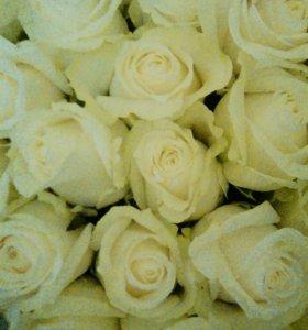 Цветы букеты розы