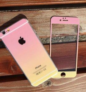 Защитные стёкла на IPhone 6,6s