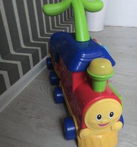 Ходунки паровоз babygo