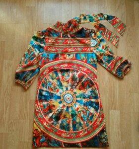 Платье шёлк 42рр