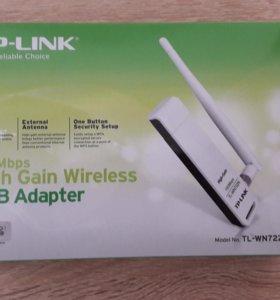WiFi High Gain Wireless USB Adapter TL-WN722N
