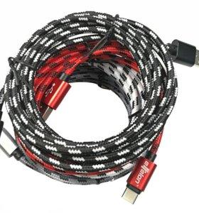 Кабель USB - Type-C длина 1м хорошее качество