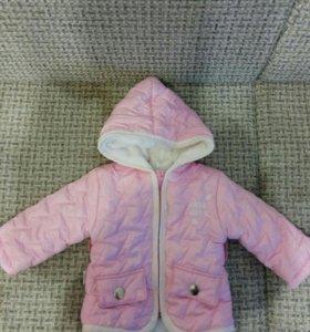 Детские куртки 1-2 года