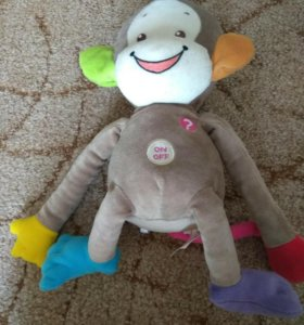 Говорящая обезьянка игрушка