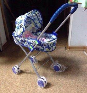 Кукольная коляска, новая