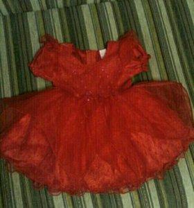 Платье нарядное для малышки