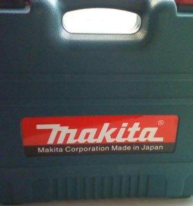 Новый makita шуруповерт 2 li-ion аккумулятора