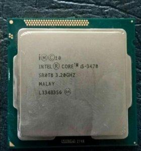 Продам процессор i5 3470