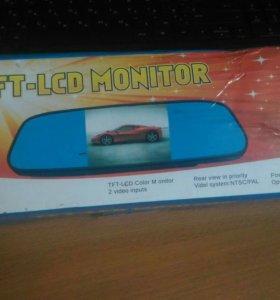 Зеркало с TFT-LCD монитором с камерой заднего вида