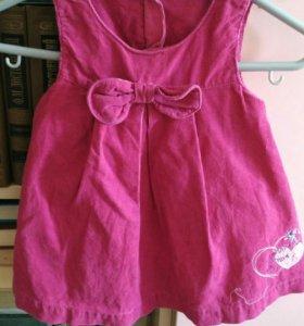 Платье нарядное для девочки до года