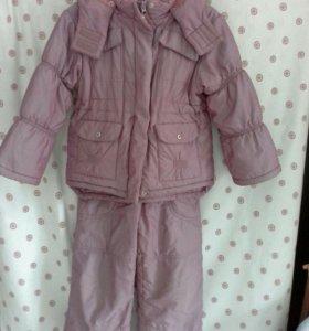 Комплект куртка+Полукомбинезон р. 104-110