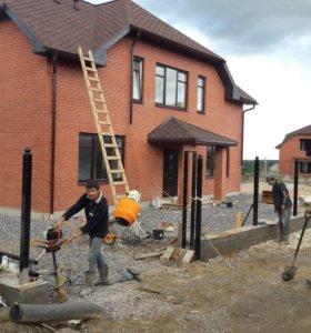 Строительство загородных домов под ключ .