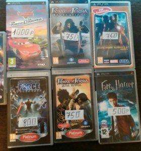 Цена на фото Игры для PSP