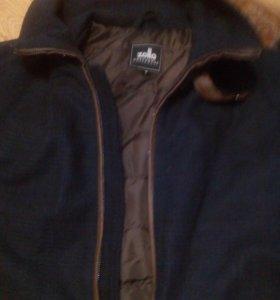 Драповая мужская куртка