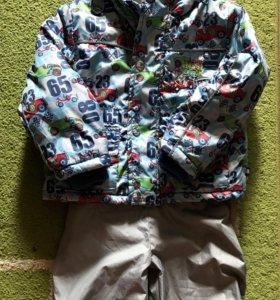 Демисезонная курточка на рост 80/86 см