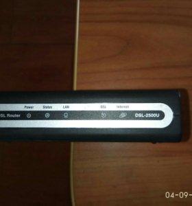 """Модем DSL D-Link """"DSL-2500U"""