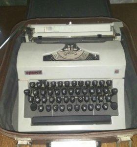 """Пишущая машинка """"Ортех"""""""