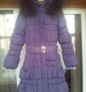Новое зимнее Пальто рост 128