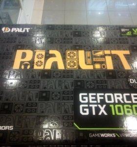 Видеокарта Palit GTX1060 3Gb новая