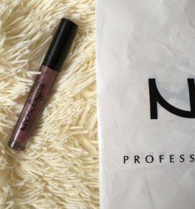 Жидкая помада NYX lip lingerie - embellishment