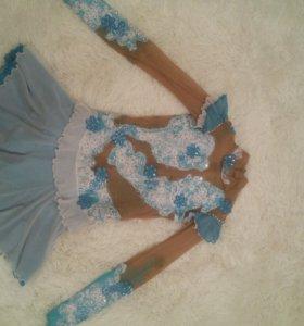 Платье для фигурного катания (11-12лет)