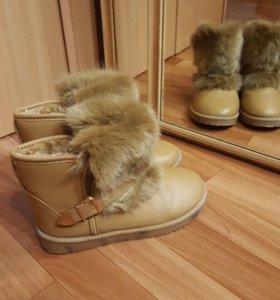 Угги, зимние ботинки