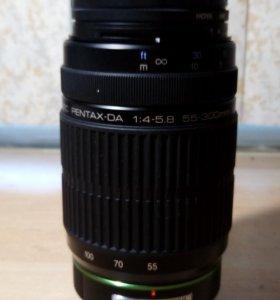 SMC Pentax  DA 55-300mm f/4.0-5.8 ED объектив