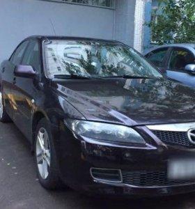 Mazda 6 I(GG) 2007, рестайлинг 2л, АТ, 147 л.с.