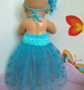 Платье для кукол baby born 43 см